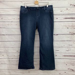 Hot in Hollywood Pull On Jeans Boot Cut XLP